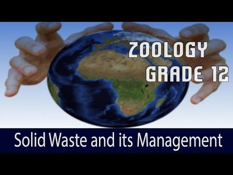 Environmental Issues- 3 | Solid Waste and its Management