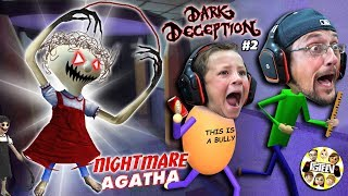 Baldi's Basics NIGHTMARE School Escape House (FGTEEV Glitched the Game)
