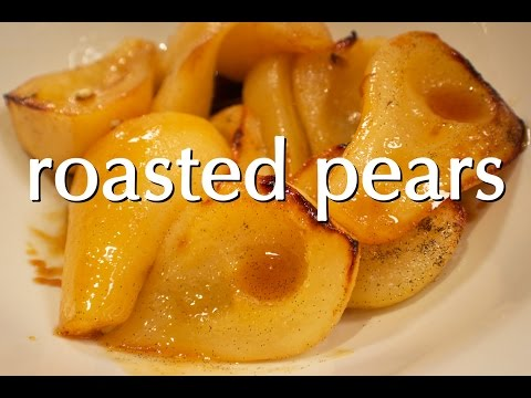 Dinner Party Tonight Shorts: Roasted Pears