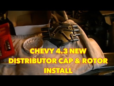 Chevy S10 4.3...Changing A Distributor Cap and Rotor