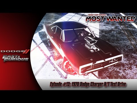 Need For Speed Most Wanted (2012) [PS3] {Episode #13}: 1970 Dodge Charger R/T [LIVE COMMENTARY]