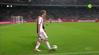 The Dane Christian Eriksen from Ajax shows great skills!