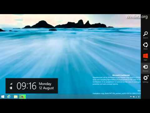 What's new in Windows 8.1 build 9471?