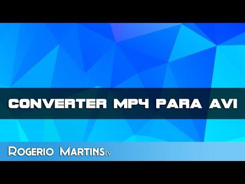 Converter MP4 para AVI e vice-versa (MUITO FÁCIL)