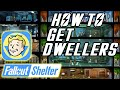 Fallout Shelter How To Get More Dwellers