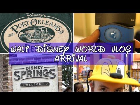 Walt Disney World Vlog 1 April 2017  - Arrival, Disney Springs and Port Orleans