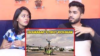 INDIANS react to I entered a Rickshaw in Islamabad   American Rickshaw Wala