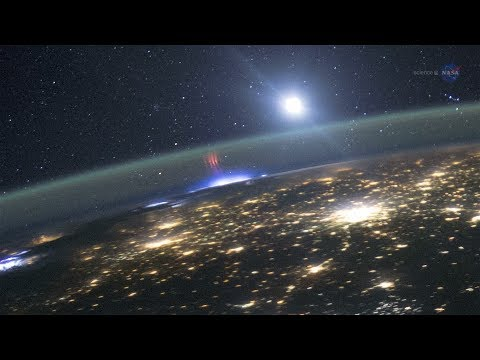 ScienceCasts: A Display of Lights Above the Storm
