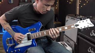 Eastwood Guitars Airline Map Dlx Demo With Rj Ronquillo