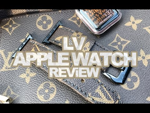 LV APPLE WATCH STRAP 2016 REViEW