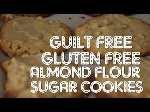 Make GLUTEN FREE Almond Flour Sugar Cookies!