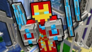 How To Become Iron Man In Minecraft