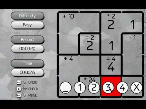 Caged Math - Free PC Logic Game
