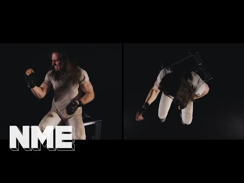 Andrew W.K. amazing air-drumming to Napalm Death 'Extremity Retained'
