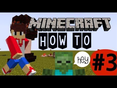 [How to] #3 Make an Automatic Door Opener [Minecraft]