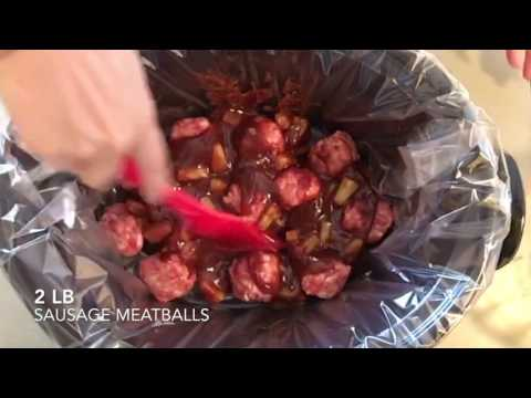 Pineapple BBQ Spicy Meatball Recipe