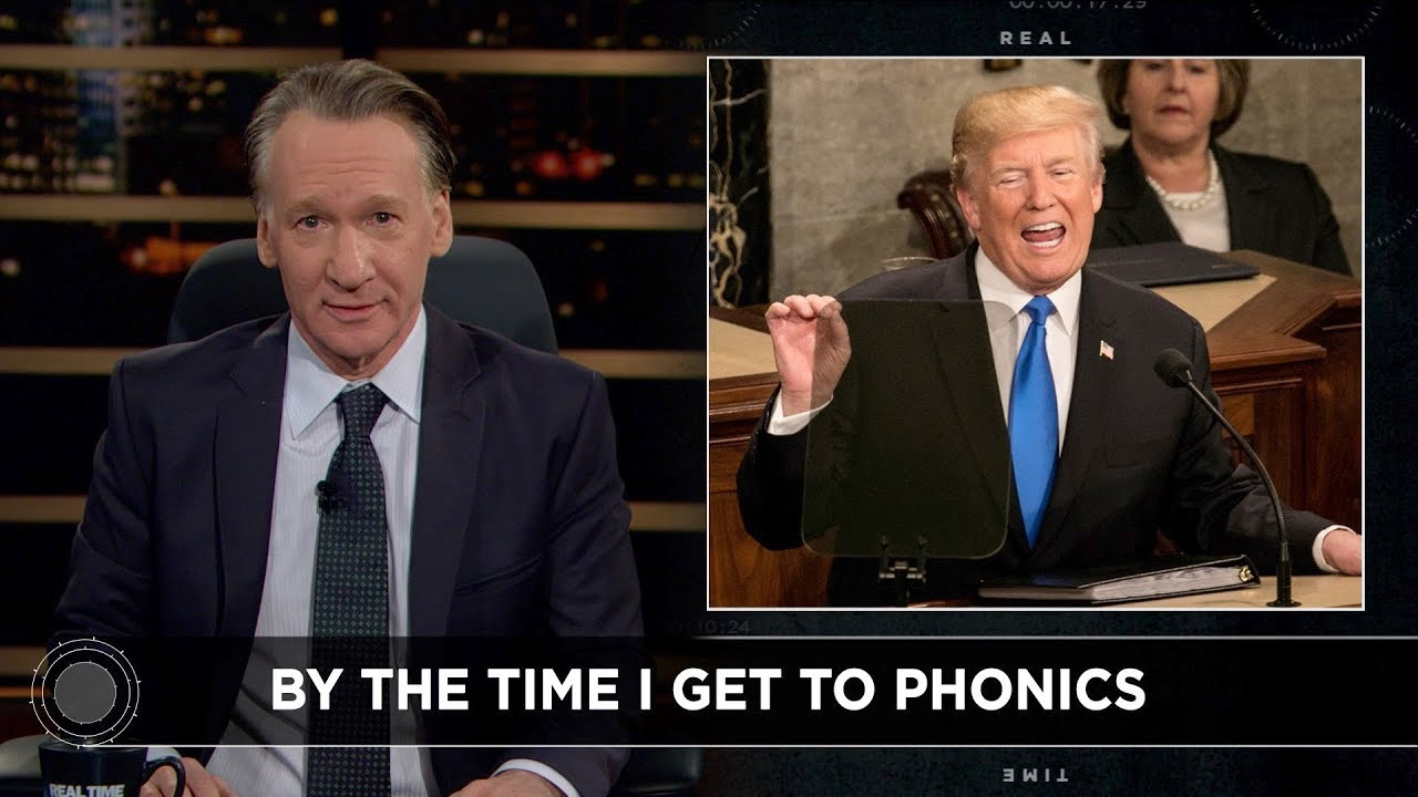 New Rule: Sub-Literate America   Real Time with Bill Maher (HBO)