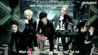 NU'EST - Face MV [English subs + Romanization + Hangul] HD