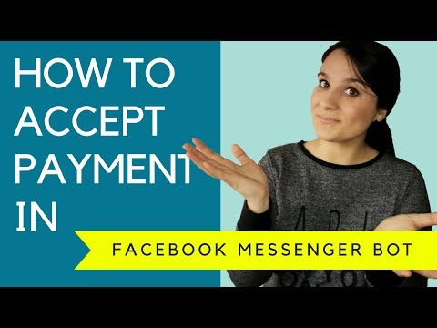 🔥 How To Accept Payment in Facebook Messenger [💳 STRIPE! ]   (4/5)
