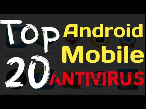 Top 10 to 20 best android mobile antivirus available in google playstore 2017