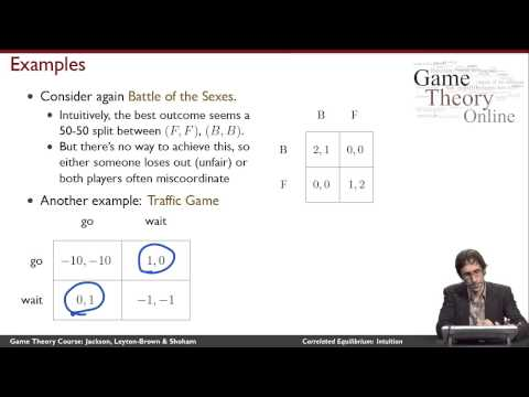 GTO-3-05: Correlated Equilibrium: Intuition