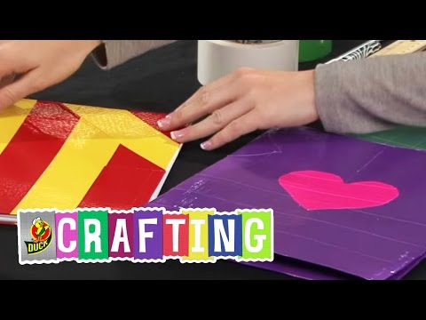 How to Craft a Duct Tape School Folder