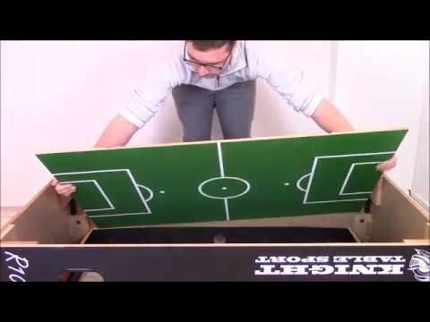 Gallant Knight R10 Football Table Assembly Video