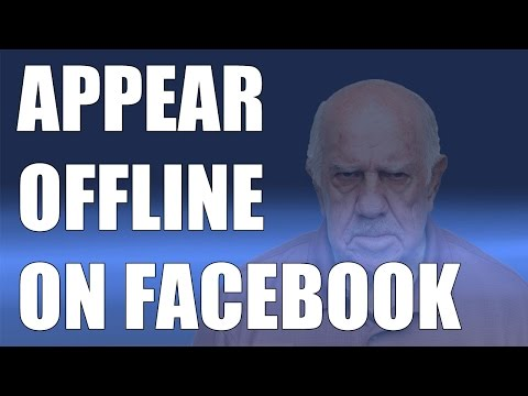 How To Appear Offline On Facebook - 2016