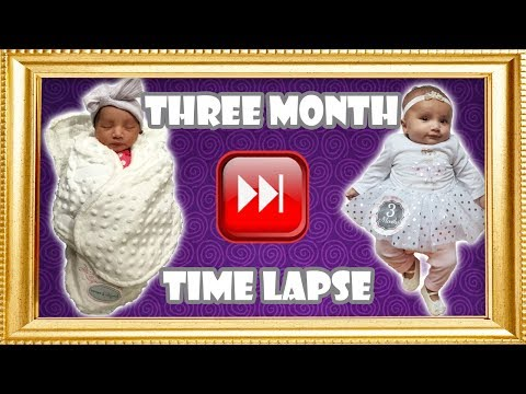 Baby's Three Month Time Lapse