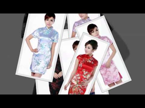 Asian Clothing for Women - Qi Pao Dresses and Chinese Blouses