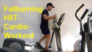 30 Min Cardio HIIT Crosstrainer Workout.  Schnell abnehmen!