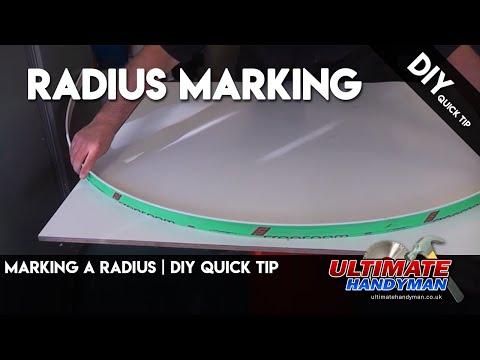 Marking a radius | DIY Quick tip