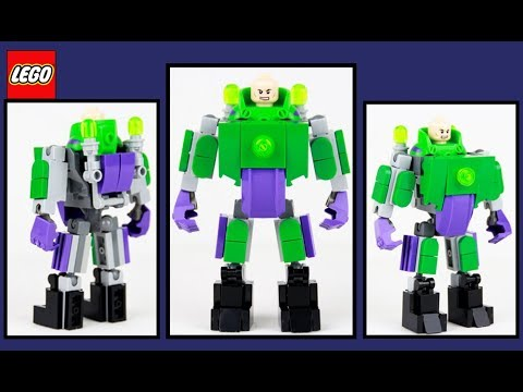 Custom Lego Lex Luthor Mech Suit Review!