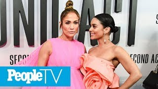 Vanessa Hudgens On Working With J.Lo: She Has A 'Crazy Aura About Her' | PeopleTV