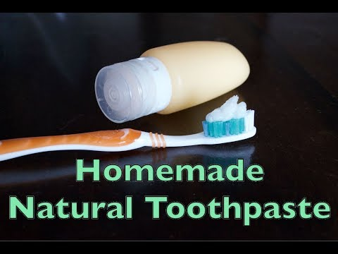 How to Make Homemade Natural Toothpaste with Coconut Oil