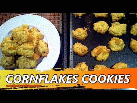 Resep dan Cara Membuat Kue Kering Cornflakes Cookies