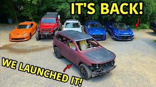 Rebuilding A Wrecked 2018 Jeep Trackhawk Part 17