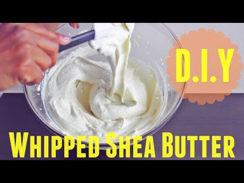 Homemade Whipped Shea Butter Mix | Natural Hair