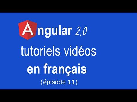 Angular 2.0 - tutoriel 11 : désactiver le bouton de soumission d'un formulaire non valide
