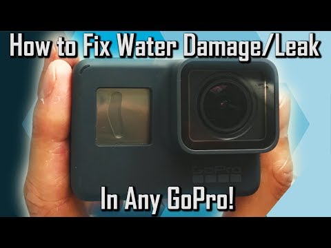 How to Fix Water Damage/Leak In Any GoPro!
