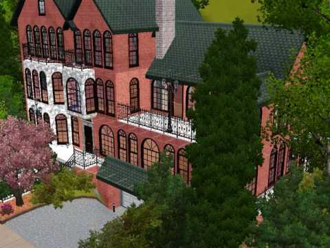 Sims 3: Victorian Mansion