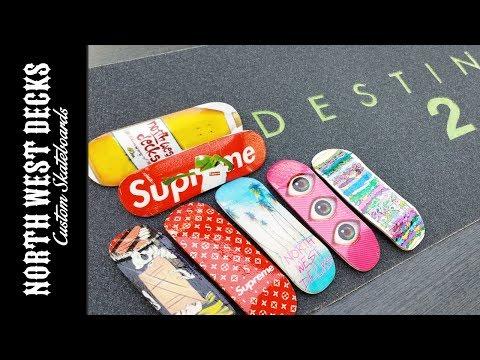 Custom Grip Tape & New Custom Fingerboards!