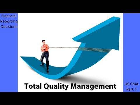 Total Quality Management | Cost Managment| US CMA Part 1| US CMA course