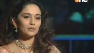 madhuri in KBC 1