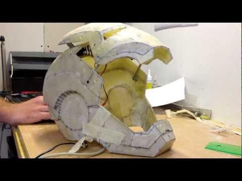 ironman helmet motorized faceplate highspeed