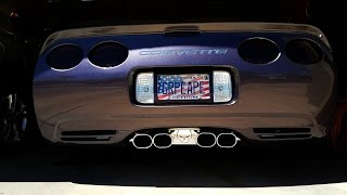 2003 C5 Corvette Featuring A PRT Billy Boat Exhaust System