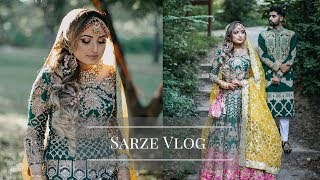GRAND PAKISTANI WEDDING VLOG | SARZE