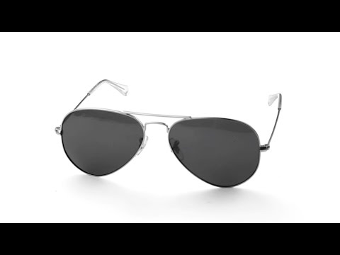 34942bd6aed Ray-Ban Aviator Large 55mm RB3025 Lens Replacement   Installation  Instructions
