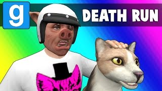 Gmod Deathrun Funny Moments - CAT FIGHT! (Garry