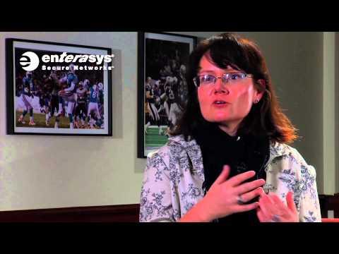 University of New Hampshire CIO on relationship with Enterasys
